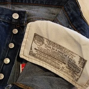Original Levi Strauss &  Co. 501 Jeans